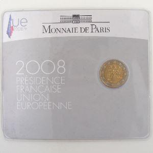 France, 2 Euro 2008 BU, Présidence Française de l'Union Européenne