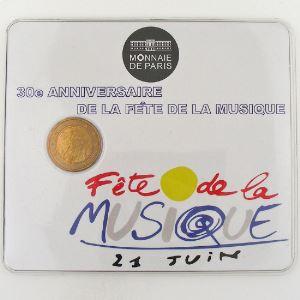 France, 2 Euro 2011 BU, 30ème Anniversaire de la Fête de la Musique