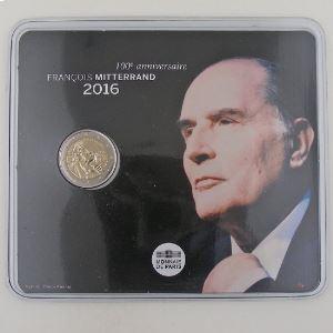 France, 2 Euro 2016 BU, François Mitterrand