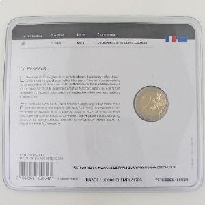 France, 2 Euro 2017 BU, Auguste Rodin