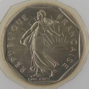 France, 2 Francs 1984, FDC, KM#542.1