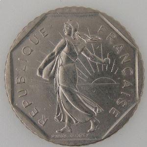 France, 2 Francs 1984, SUP+, KM# 942.1