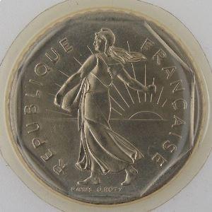 France, 2 Francs 1985, FDC , KM#542.1