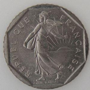 France, 2 Francs 1995, SUP/SUP+, KM#542.1