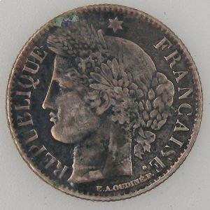 France, Cérès, 50 Centimes 1850 A, TB, KM#769.1
