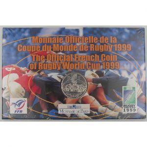 France, Coupe du Monde de Rugby 1999, 1 Franc 1999 Argent