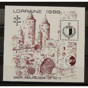 France, Feuillet C.N.E.P. n°9 N** Cote 25€