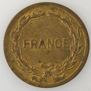 France, France libre, 2 Francs 1944, TTB+, KM# 905