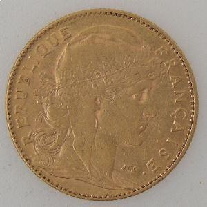 France, Marianne, 10 Francs 1899, TB+/TTB , KM#846