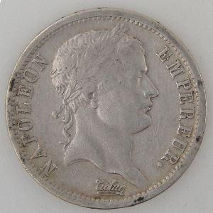 France, Napoléon I, 2 Francs 1809 A, TB+, KM# 693.1
