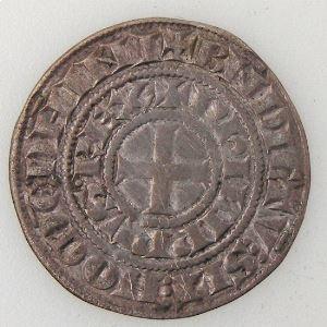 France, Philippe IV, Maille Tierce à l'O rond, TTB/TTB+, Dup:219