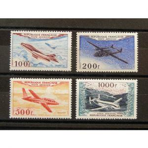 FRANCE, Poste Aérienne n°30-33 N** Cote 400€