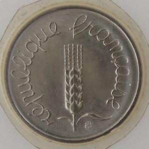 France, 1 Centime 1984, FDC, KM# 928