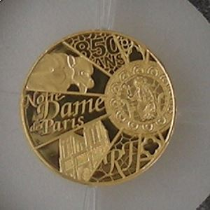 France, 5 Euro 2013 BE Unesco, 850 ans Notre Dame de Paris