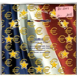 France , Coffret BU 2003