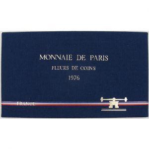 France coffret FDC 1976, Tranche A
