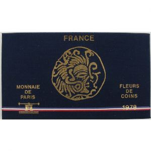 France coffret FDC 1978, Tranche A
