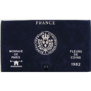 France coffret FDC 1982, Tranche A