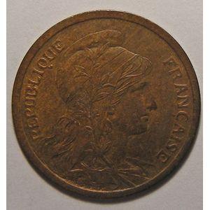 France, Dupuis, 2 Centimes 1899 TTB+ cleaned, Gad: 107