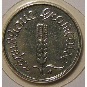 France, Epi, 1 Centime 1987 FDC, KM# 928