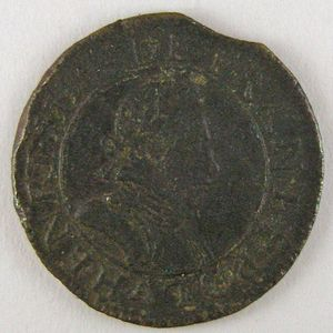 France, Henri III, Double tournois 1579 A, TB/TB+, Dup:1152
