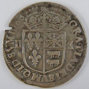 France, Henri IV, 1/4 Ecu du Béarn 1606 , Dup: 1240, TB+