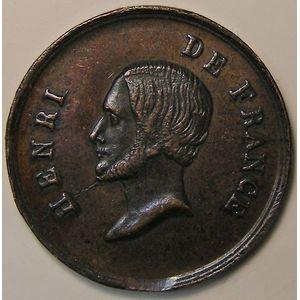 France, Médaille d'Henri V de France, TTB
