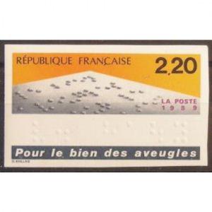 FRANCE n°2562 non dentelé N**  Cote 23€