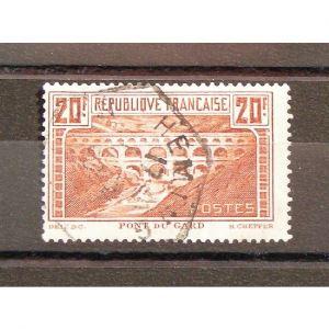 FRANCE n°262  Obl. Cote 50€