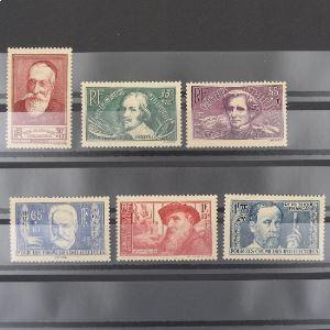 FRANCE n°380-385  N** Cote 90€