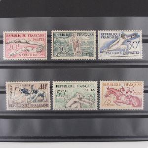 FRANCE n°960-965 N** Cote 90€