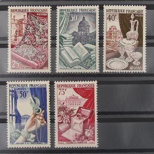 FRANCE n°970-974 N** Cote 45€