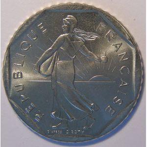 France, Semeuse, 2 Francs 1986 SUP+/SPL, KM# 942.1