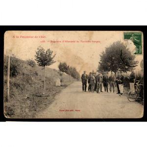 Frontière de l'Est - Expulsion d'Allemands du Terrains Français