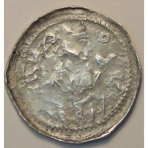 Germany, Trier, Trèves, Arnold d'Isenbourg (1242-1259), denier, Weiller: 154, TB+
