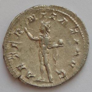 GORDIEN III, GORDIANUS III, Antoninien, AETERNITATI AVG, TTB/TTB+