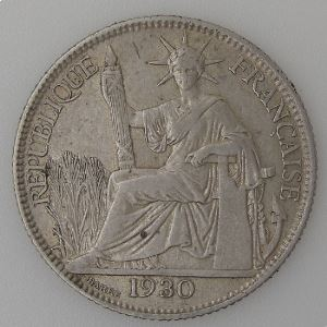Indochine Française, 20 Cent 1930, TB+/TTB, Lec:230