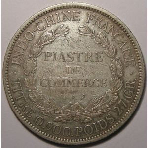 Indochine, Indochina, 1 Piastre 1899, TB+/TTB, Lecompte: 281