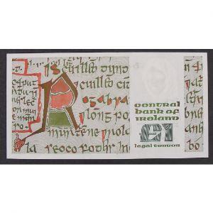 Irlande, 1 Pound 10.6.1977, UNC
