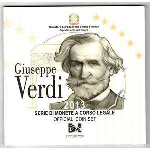 Italy, Coffret BU 2013 Verdi