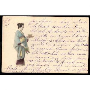 JAPON  - Geisha