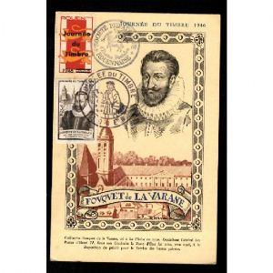Journée du Timbre 1946 - ROUEN - Fouquet de la Varane