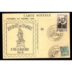 Journée du Timbre 1946 - STRASBOURG -