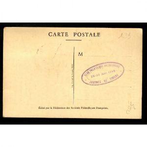 Journée du Timbre 1946 - VALENCIENNES - Fouquet de la Varane