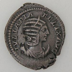 JULIA DOMNA, Antoninien, R/ VENVS GENETRIX, TTB