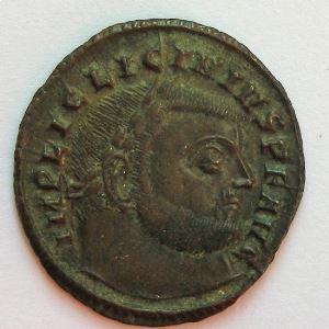 LICINIUS I, Follis, IOVI CONSERVATORI, TTB+