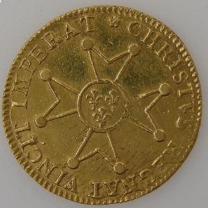 Louis XV 1715-1774, Roi de France, Louis d'or à la Croix du Saint Esprit 1718 A, TTB+/SUP, Gad: 336