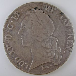 Louis XV, Ecu au bandeau 1756 L, Gadoury: 322, TB