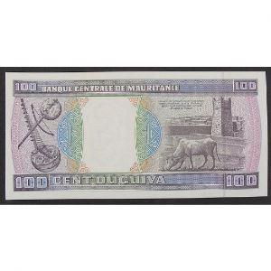 Mauritanie , 100 Ouguiya 28.11.1989, XF+