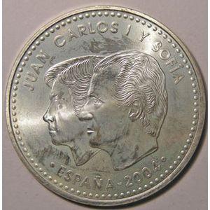Monnaie Euro, Espagne, Spain, Juan Carlos I, 12 Euro 2004